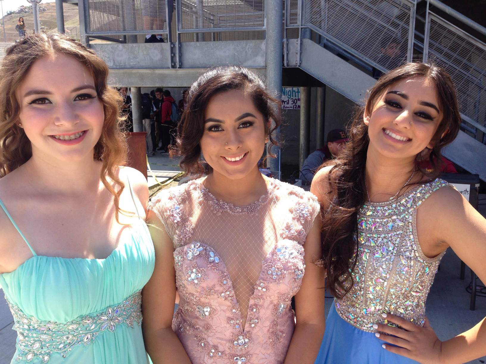 Prom Expo Hillcrest High School Riverside Prom Makeup